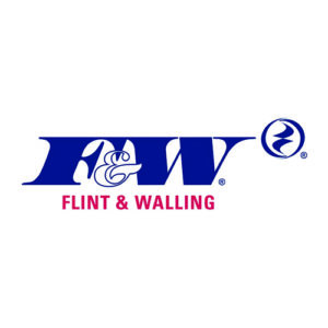 F&W Flint & Walling Logo carried by Wellmaster Well Water Environmental products