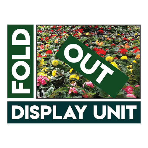 Wellmaster Fold Out Display Unit greenhouse and nursery products