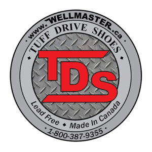 Wellmaster Tuff Drive Shoes Lead Free made in canada carried by Wellmaster Well Water Environmental products