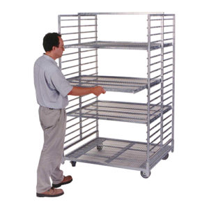 Cart with removable racks
