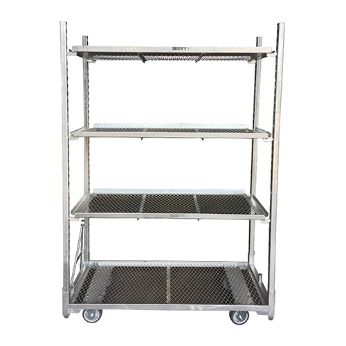 Budget Cart with shelves