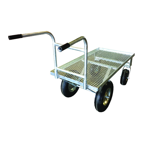 Grizzly Galvanized Cart