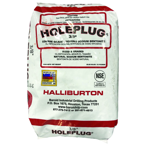 Holeplug Natural Sodium Bentonite
