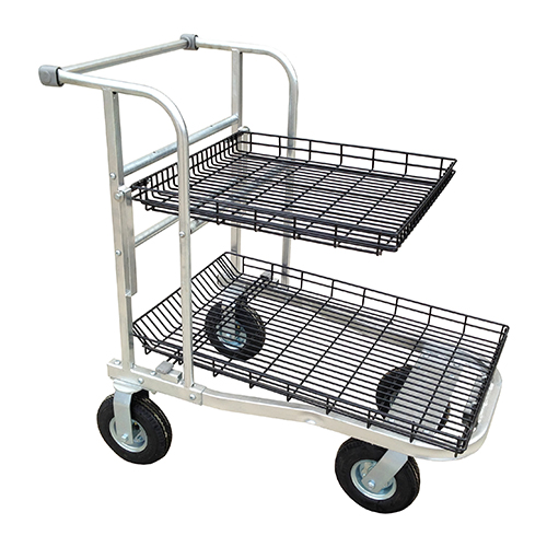 Hornet NSC Cart top rack folded down