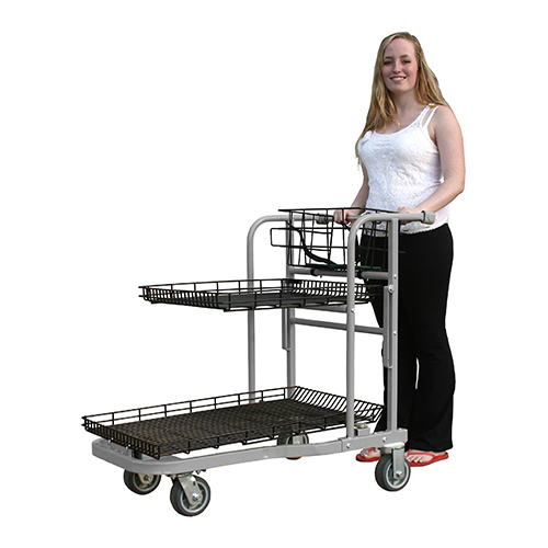 Hornet NSC Cart being pushed by a customer