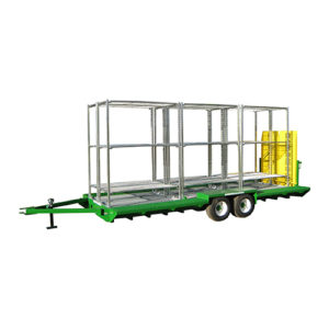 Tandem Axle Trailer Loaded