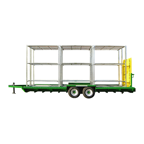 Tandem Axle Trailer with carts