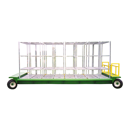 Tracking Wagon with carts