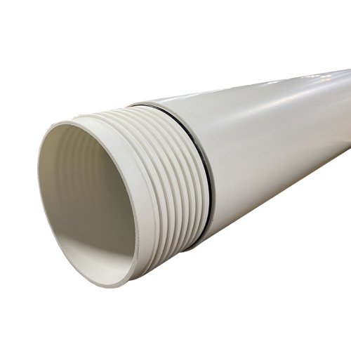 """4.00"""" x 10 Ft. Long, Schedule 40 PVC Pipe - Wellmaster"""